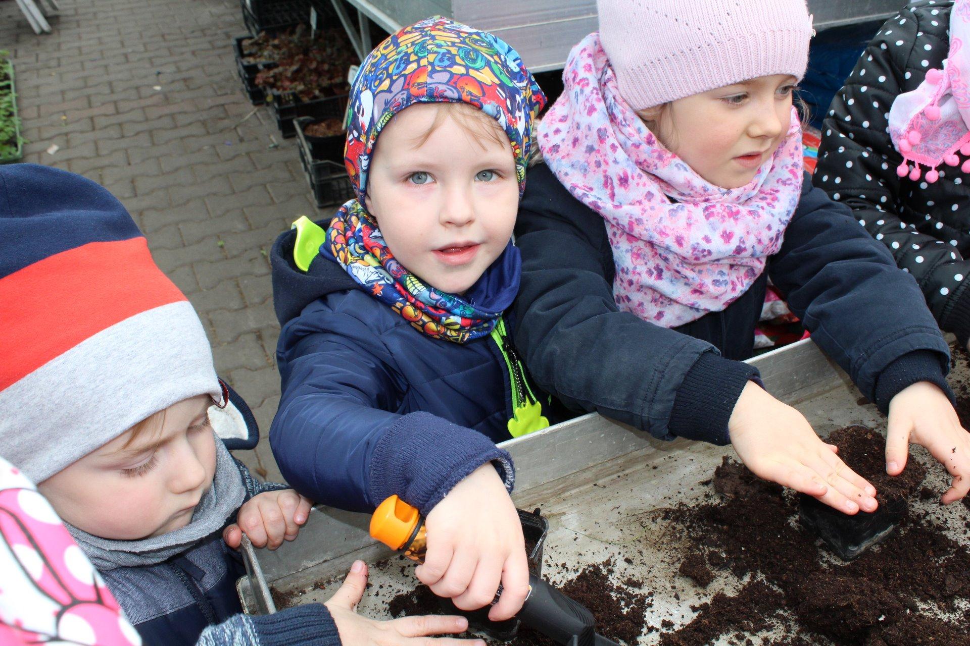 Warsztaty ogrodnicze u Pana Klimzy