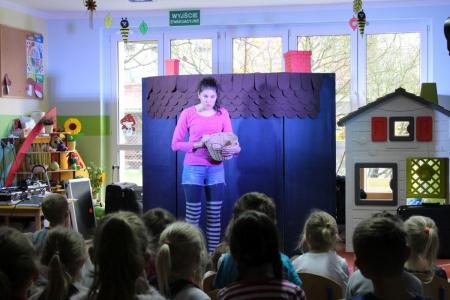Teatr Ekostudio w przedszkolu