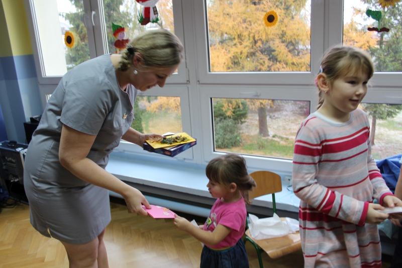 Wizyta położnej w przedszkolu